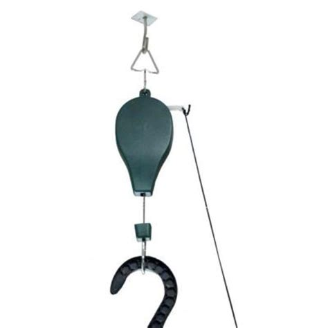riverstone pulley system for hanging plants and bird feeders 3 pack rsi p3 the home depot