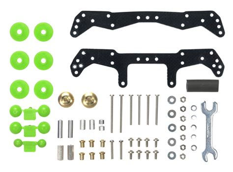 Tamiya Stabilizing Plates No 15064 mini 4wd basic tune up parts set for ar chassis
