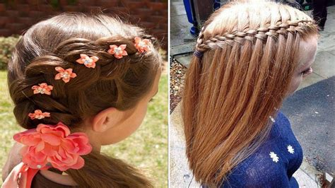 imagenes de nias peinados para ni 241 a con trenzado consejos y estilo youtube