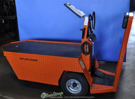 dunn for sale used dunn electric stockchaser cart mdl sc100 24 sterling machinery sterling machinery