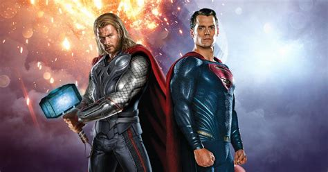 movie thor vs superman superman vs thor who will lose and why quirkybyte