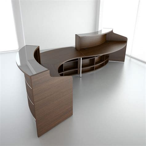 Valde Reception Desk Mdd Valde 10 Reception Desk 3d Model Max Obj Fbx Mtl Cgtrader