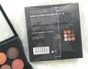 Eyeshadow Focallure Harga review focallure 9 eyeshadow no 05 dose corner