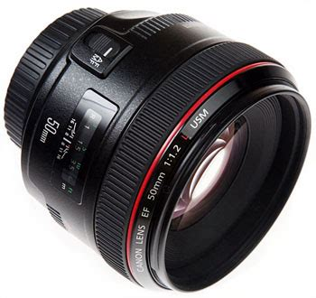 review of the canon ef 50mm f/1.2l usm lens