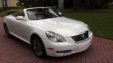 lexus convertible sc430 sold 2006 lexus sc430 convertible for sale by autohaus