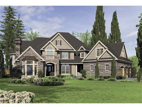 New American House Floor Plans New House Large American Style American Home Design