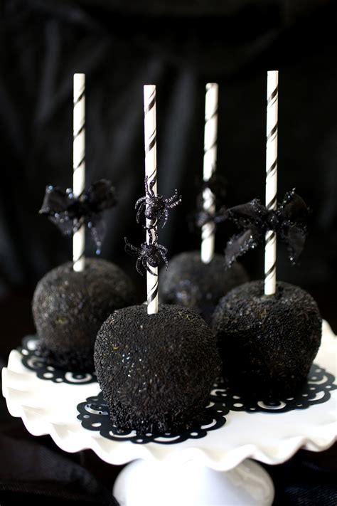 Black As Night Caramel Apples Evite