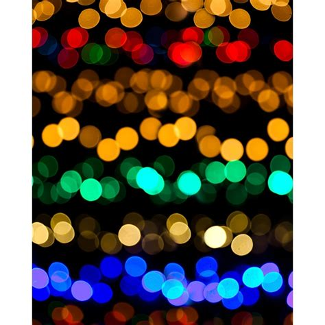 bokeh christmas lights printed backdrop backdrop express