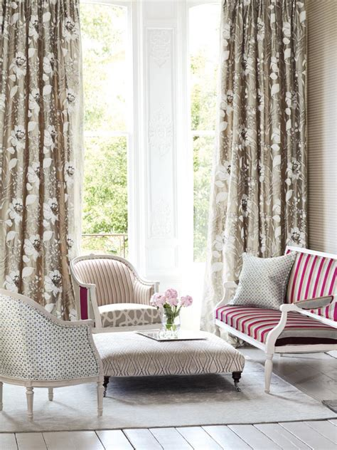 Living Room Window Curtains by Living Room Window Treatments Hgtv