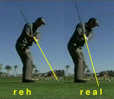 real golf swing easy golf swing