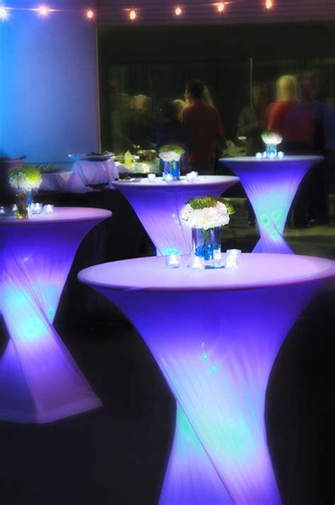 N40 Sky Flow Spandex white spandex poseur cocktail tablecloth 60cm event essentials