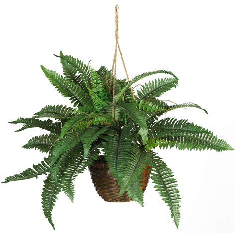 hanging plant soften your space with artificial hanging plants