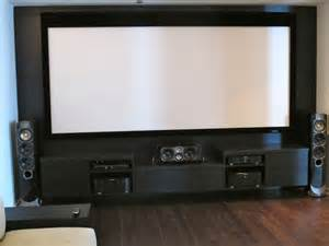Home Cinema Cabinet - custom media room entertainment center with greenfield center aka man cave contemporary
