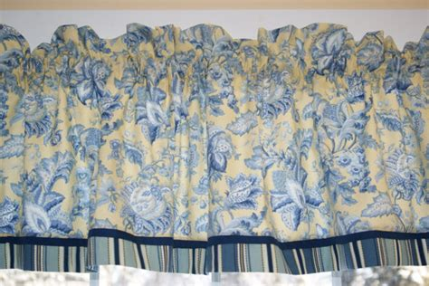 Yellow Toile Valance unavailable listing on etsy
