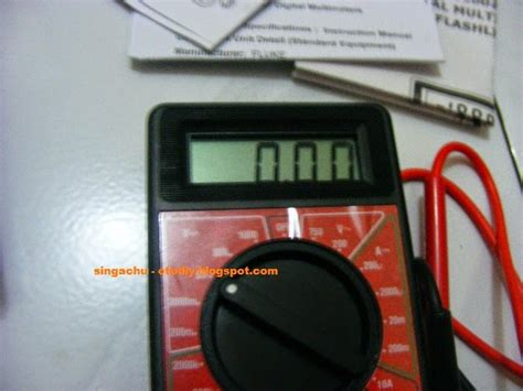 Multimeter Digital Krisbow review multimeter digital merk krisbow