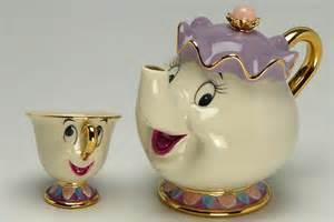 Disney Princess Duvet Disney Beauty And The Beast Tea Pot Amp Cup Tea Set Mrs Pot