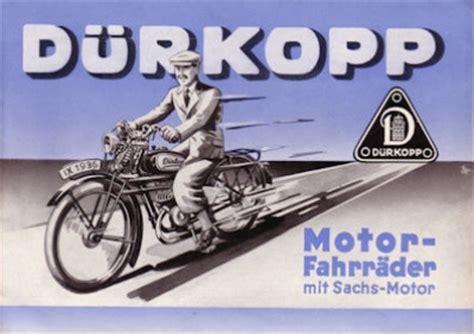 Motorfahrrad Deutschland by D 252 Rkopp Motorfahrrad Modelle 10 11 12 Prospekt 1936 Nr