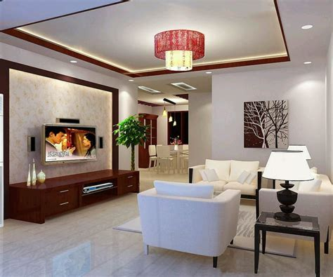 indian home interior design  hall middle class