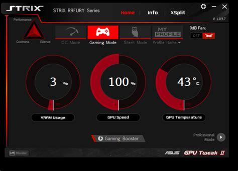 amd gpu fan control meet the asus strix r9 fury the amd radeon r9 fury
