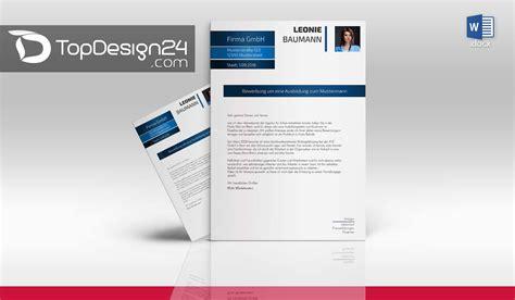 Bewerbung Muster Layout Bewerbung Design Word Topdesign24 Bewerbungsvorlagen