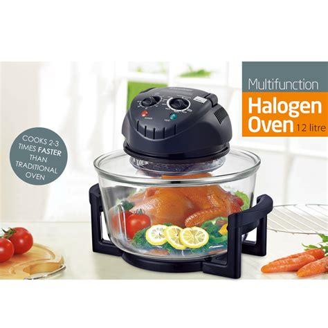 Halogen Countertop Oven by 1300w 12 Quart Electric Countertop Toast Broil Bake