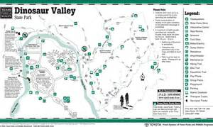 Dinosaur Valley State Park Map by Dinosaur Valley State Park Maplets