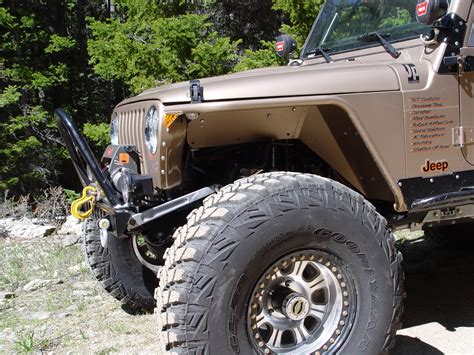 Aftermarket Jeep Fenders Jeep Tj Fenders 3 Inch Flare High Clearance 97 06