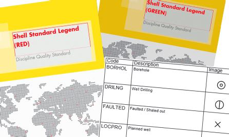 shell releases its 'standard legend' to industry and