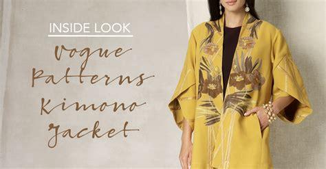 kimono pattern vogue inside peek vogue patterns designer kimono jacket