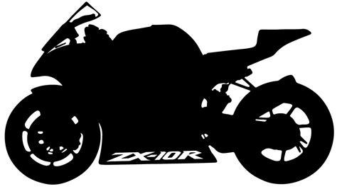 Motorrad Silhouette by Www Timos Plottshop De Kawasaki Zx 10r Silhouette