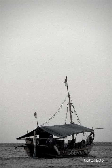 pantai ancol perahu pantai perjalanan