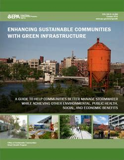 green infrastructure plan fuels smarter enhancing sustainable communities with green infrastructure smart growth us epa