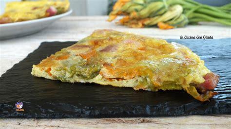 frittata con fiori di zucca frittata con i fiori di zucca le delizie di giada