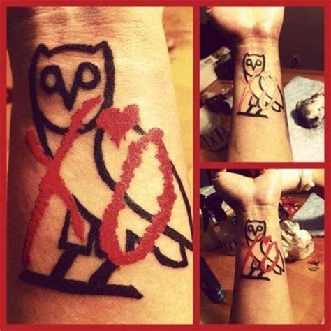 ovoxo tattoo xo theweeknd xotwod xogang ovoxo the weeknd