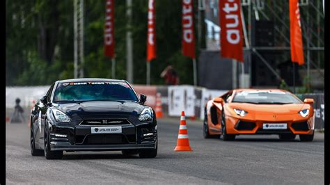 lamborghini race with drag race lamborghini aventador vs nissan gt r