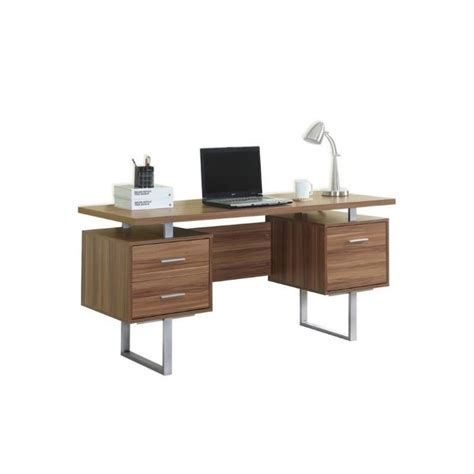 60 Office Desk by 60 Quot Hollow Office Desk In Walnut I 7083