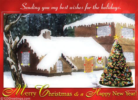 holiday wishes  business  ecards greeting cards