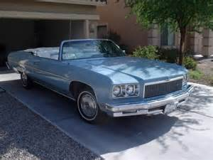 1975 Chevrolet Caprice Convertible For Sale 1975 Chevrolet Caprice Classic Convertible For Sale