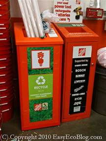 home depot recycle fluorescent recycle everything recycling tips