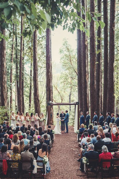 Romantic Boho Chic Forest Wedding