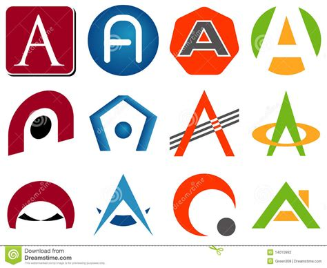 logo lettere letter a logo icons free icons