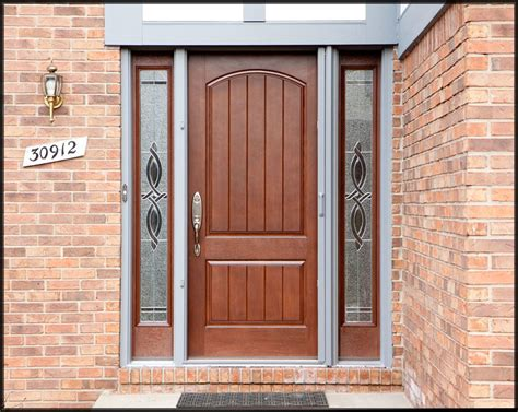 Front Exterior Doors For Homes A New Thermatru Front Entry Door Mccarter Construction