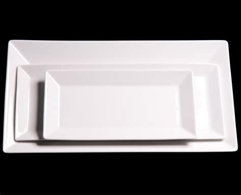 Jysk Dinner Plate Linje White 02 57 rectangular white dinner plates china hotel amenities