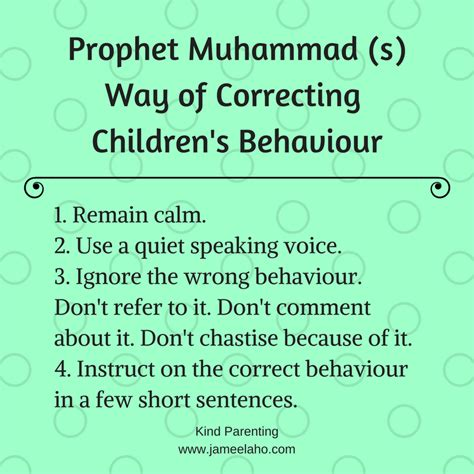 biography about nabi muhammad kind parenting