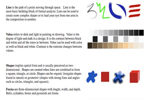 design elements kid definition gazda molly art art elements and principles definitions