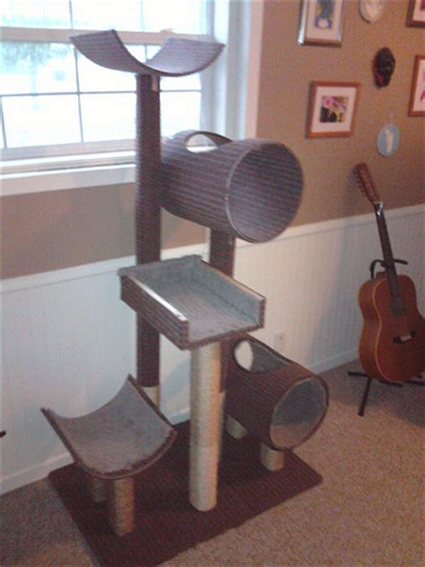 Handmade Cat Trees - cat tree flickr photo