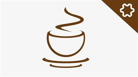 coffee cup quick coffee cup logo design tutorial coffee house
