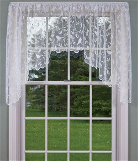 swag curtains for bedroom bird song lace swag bedroom curtains curtains swags