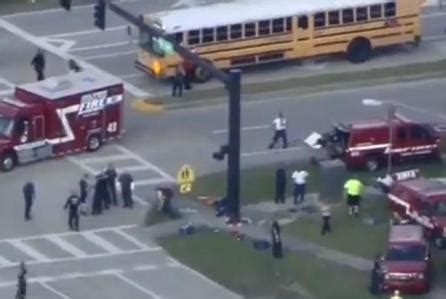 """at least 14 victims"" in florida high school shooting"