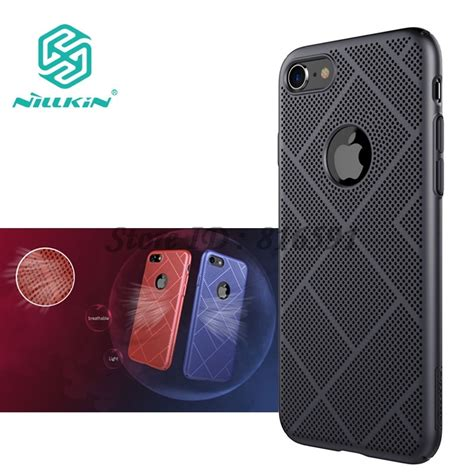 sfor iphone 8 plus nillkin lightweight heat release dissipation air feel thin cover for